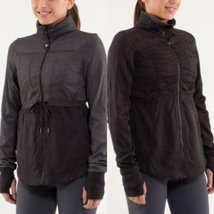 Lululemon Inner Peace WMNS Reversible Jacket Sz 6